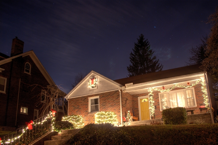 The lights are up which means Christmas is right around the corner.