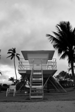 I thought this lifeguard tower was cool