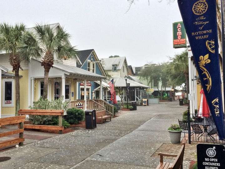 Part of the Baytowne Wharf village within the resort.