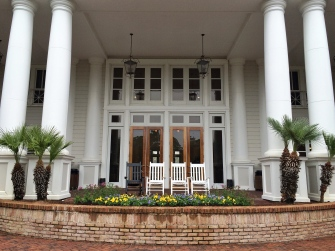 Front porch of our hotel.