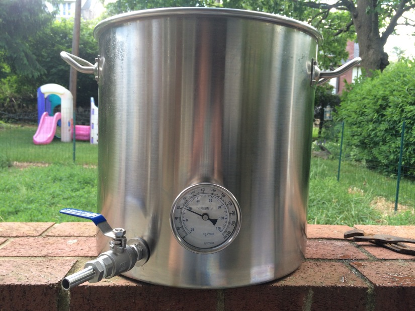 Upgrades to my brew kettle
