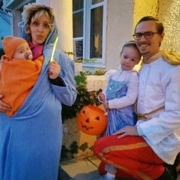 Happy Halloween from The Hauks