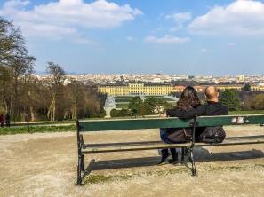 Love overlooking Vienna