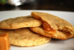 Apple Cider Caramel Cookies
